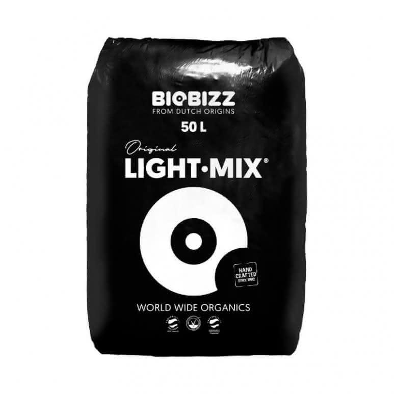 BioBizz® Light-Mix 50 Liter - Erdsubstrat mit Perlite