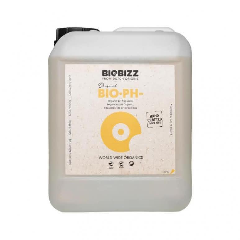 BioBizz® Bio-pH Minus 5 Liter - Natürliche pH Regulierung auf  Zitronensäurebasis