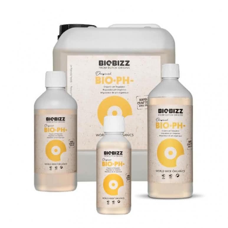 BioBizz® Bio-pH Minus - Natürliche pH Regulierung auf Zitronensäurebasis
