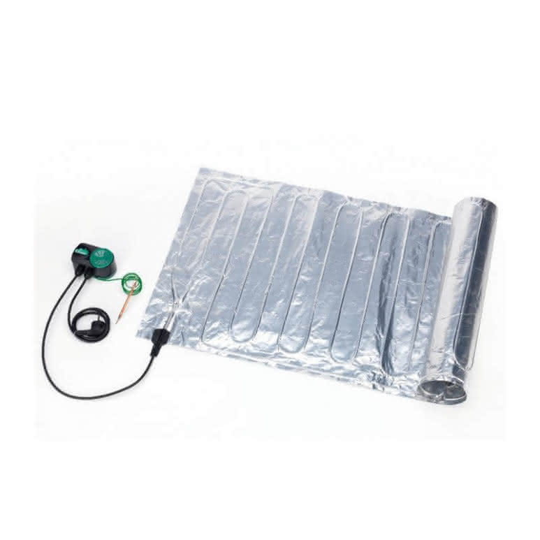 Bio Green Aluminium-Heizmatte 60x200cm inkl. Thermostat