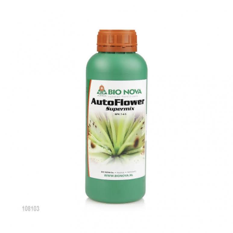 Bio-Nova AutoFlower SuperMix 1 Liter - Speziell für Autoflower