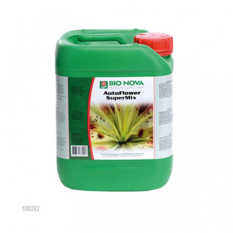 Bio-Nova AutoFlower SuperMix 5 Liter - Speziell für Autoflower