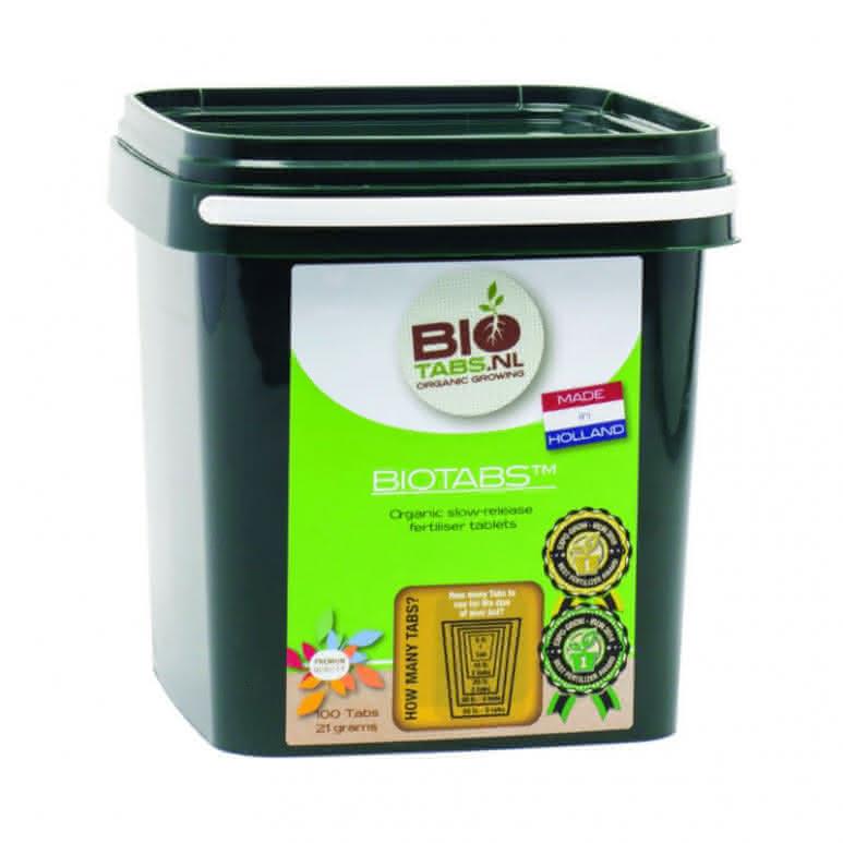 BioTabs Düngertablette - 100 Stück