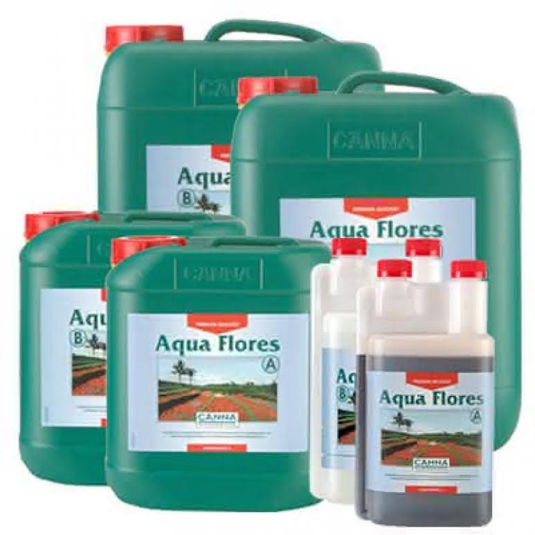Canna Aqua Flores A + B - Blütedünger