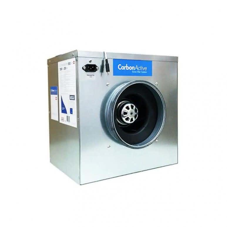 CarbonActive schallgedämmte EC Silent-Box 500m³/h - 160mm 820 Pa