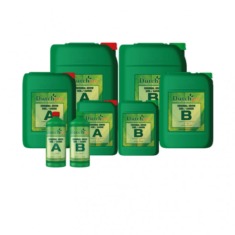 DutchPro Original Grow A+B - Erde