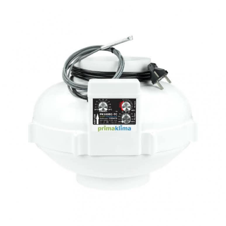 Prima-Klima PK160EC-TC EC-Rohrventilator 160mm - 1180m³/h