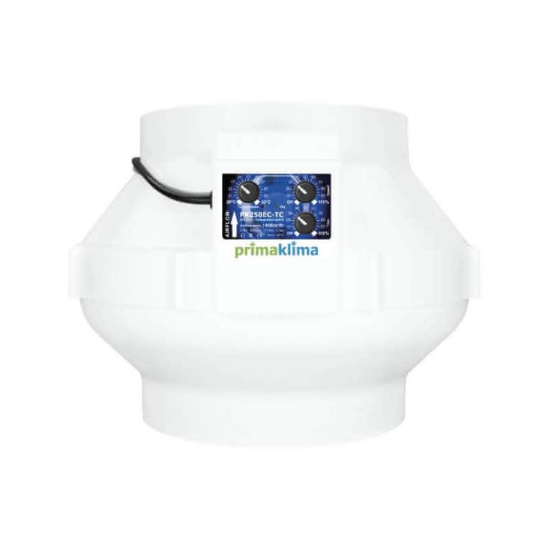 Prima-Klima PK250EC-TC EC-Rohrventilator 250mm - 1450m³/h