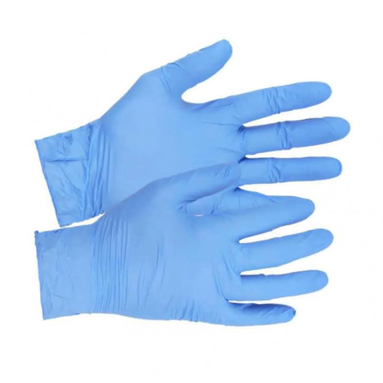 Einweghandschuhe Nitril - Ty p 40 - puderfrei - blau - 200 Stück - Größe L