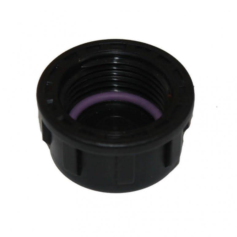 PP-Gewindefitting Verschlusskappe - für 1