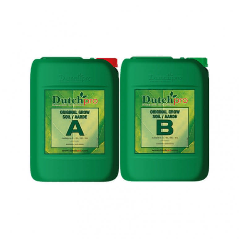 DutchPro Original Grow Erde A+B je 10 Liter