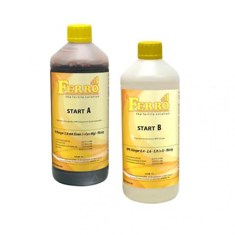 Ferro Standard A&B Start Erde / Hydro je 1 Liter