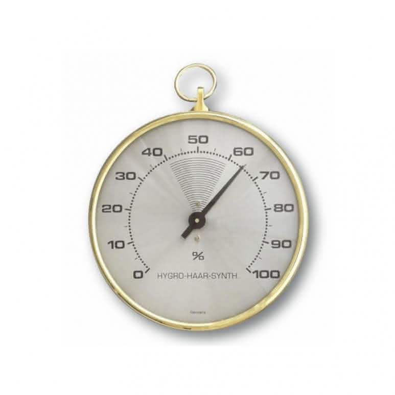 Faden-Hygrometer 102mm analog 0-100% - Präzisionsinstrument