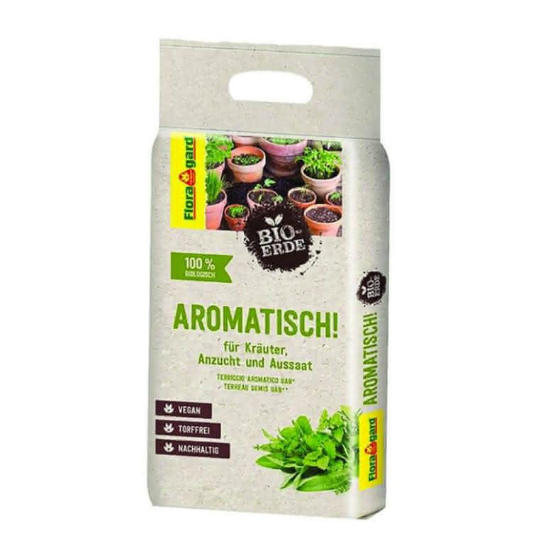 Floragard® Anzucht- und Pikiererde 3 Liter - 100% vegan