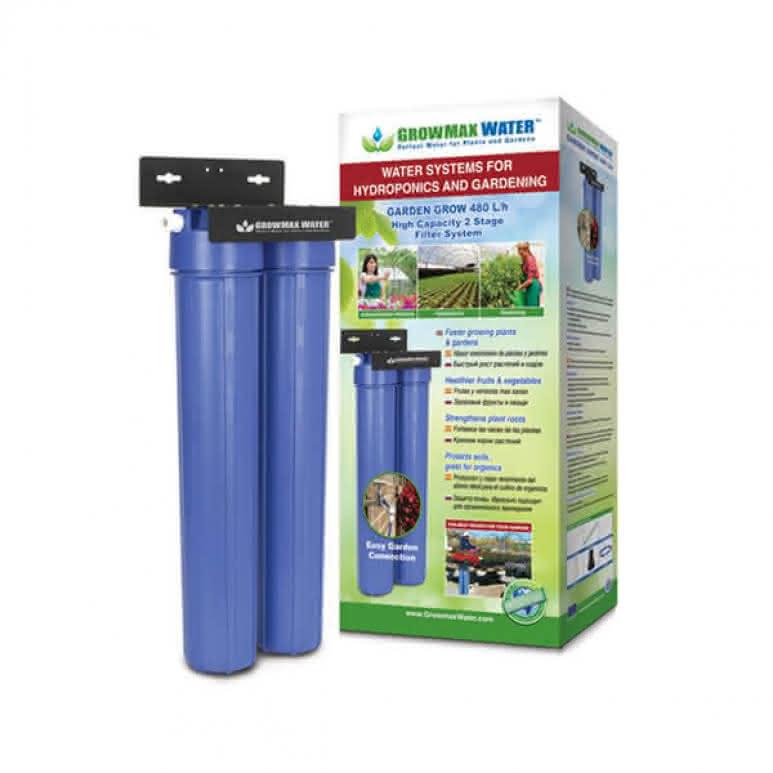 GrowMax Water Garden-Grow 2-Stufen-Filtersystem - 480 Liter pro Stunde