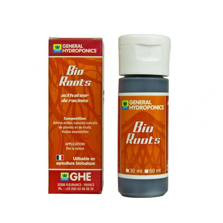 General Hydroponics GHE Bio Roots 30ml - biologischer Wurzelstimulator