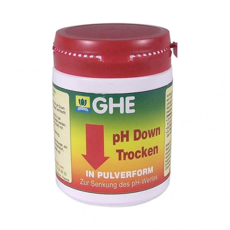 General Hydroponics GHE pH Down Dry 250g - pH-Regulator