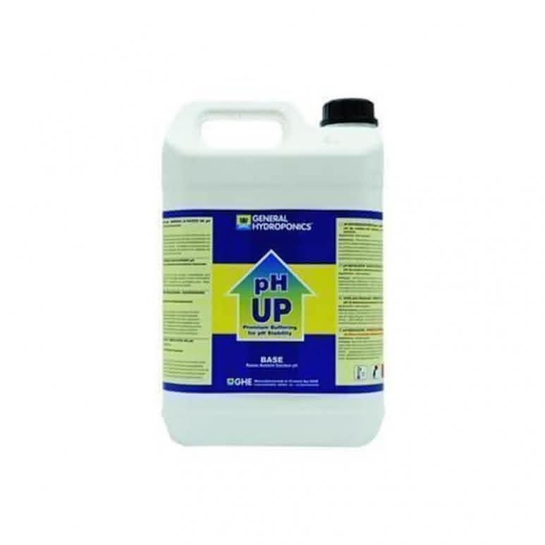 General Hydroponics GHE pH Up 5 Liter - pH-Regulator