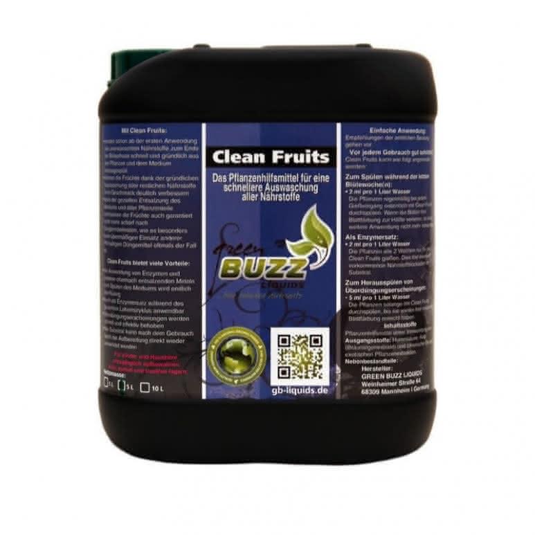 Green Buzz Liquids GBL Clean Fruits 10 Liter - Pflanzenhilfsmittel organisch