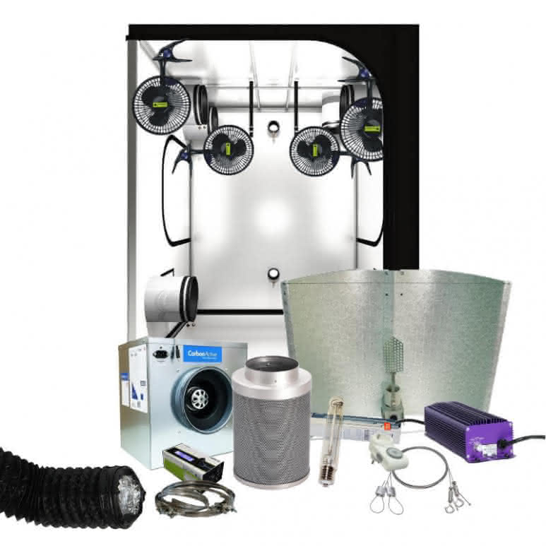 Growbox Komplettset NDL pro - 150x150cm - 1000 Watt