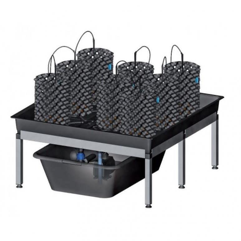 growSYSTEM Airpot 0.8 - inkl. 8x Air-Pot® 3 Liter