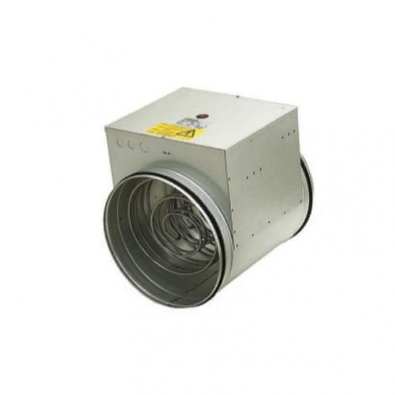 Elektroheizregister für Rohreinbau unberkabelt - 200mm 2100 Watt