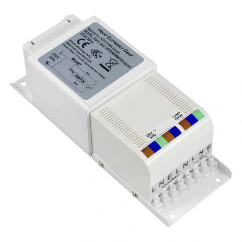 Horti Compact Gear Vorschaltgerät 600 Watt - analog unverkabelt