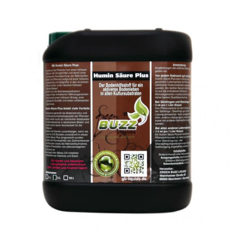 Green Buzz Liquids GBL Humin Säure Plus 5 Liter - Pflanzenhilfsmittel organisch