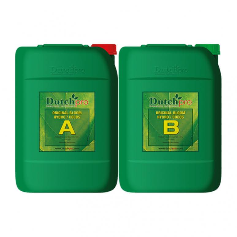 DutchPro Original Bloom Hydro/Coco A+B je 20 Liter