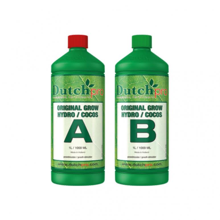 DutchPro Original Grow Hydro/Coco A+B je 1 Liter