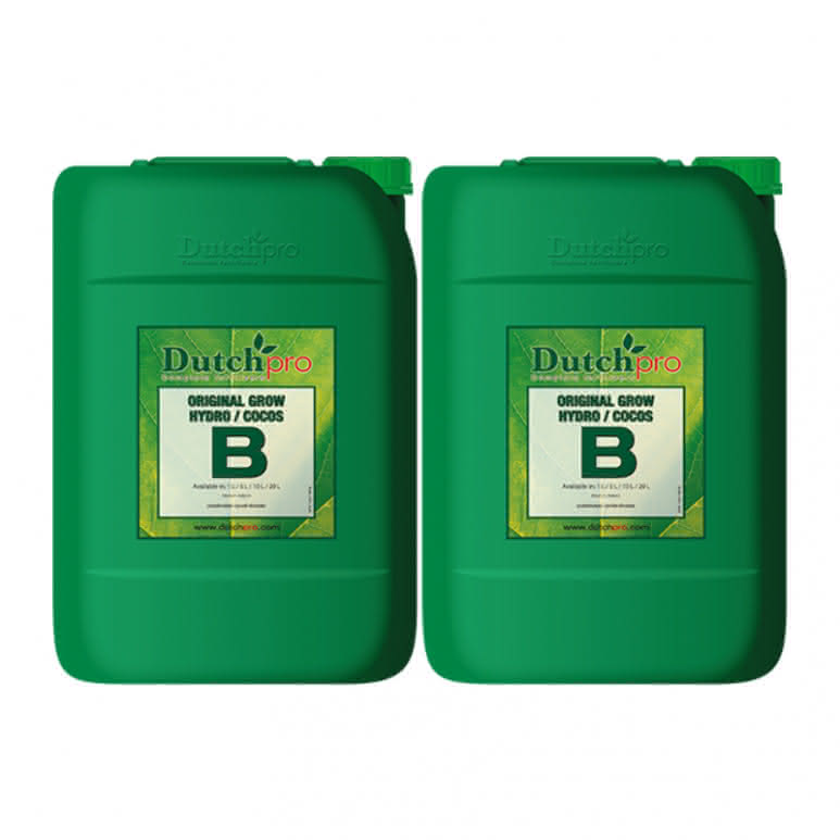 DutchPro Original Grow Hydro/Coco A+B je 20 Liter