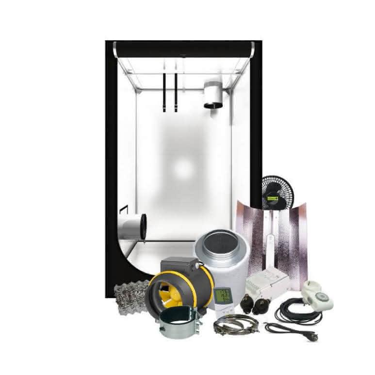 Growbox Komplettset NDL - 100x100cm - 600 Watt