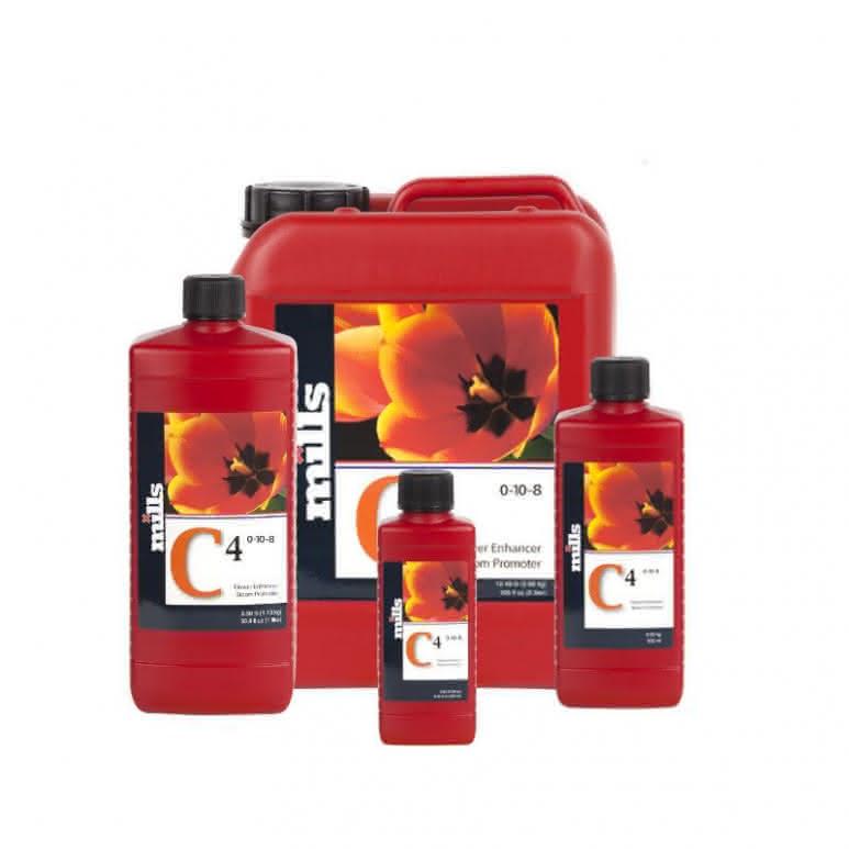 Mills Nutrients C4 High Concentrated - Blütenstimulator