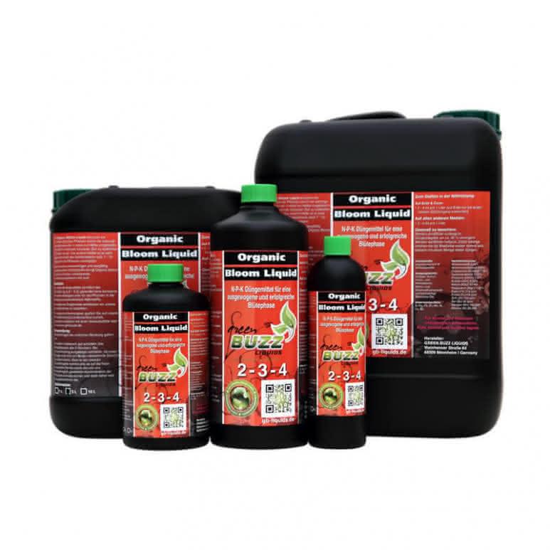 Green Buzz Liquids GBL Organic Bloom Liquid - Blütedünger organisch