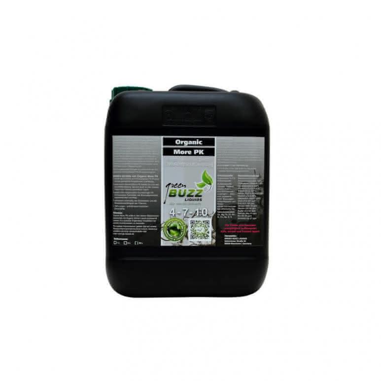 Green Buzz Liquids GBL Organic More PK 10 Liter - PK-Booster organisch