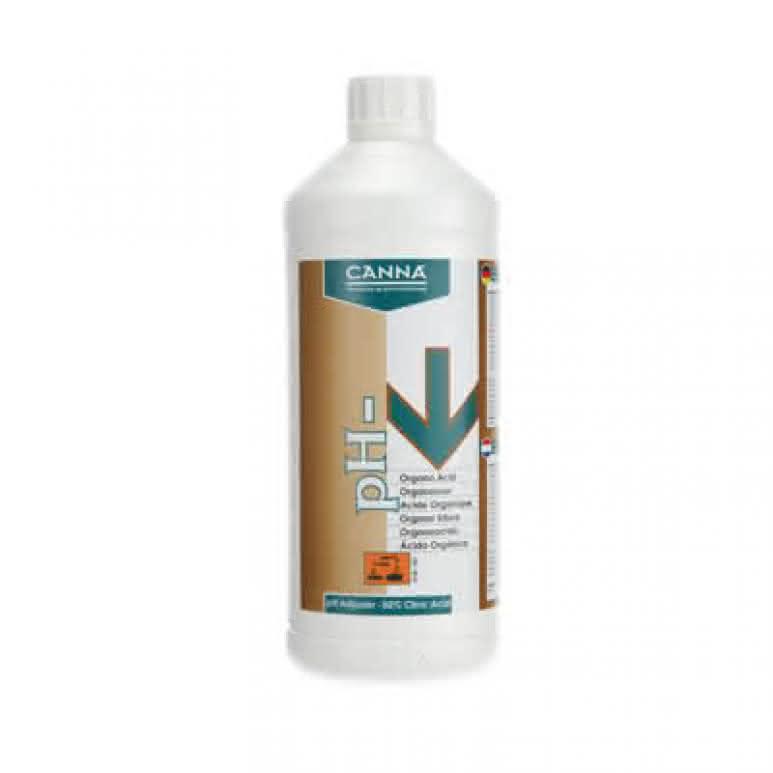 Canna pH Minus organische Zitronensäure 1 Liter - pH-Regulator