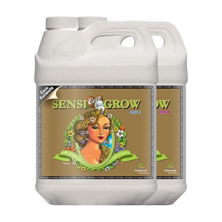 Advanced Nutrients Sensi Grow Coco A + B je 4 Liter - Basisdünger