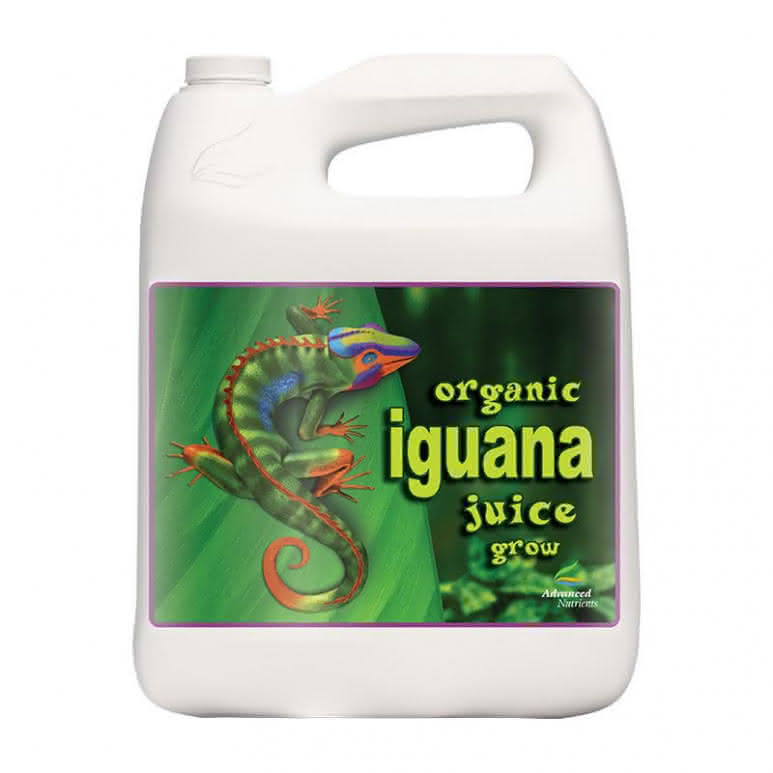 Advanced Nutrients Iguana Juice Organic Grow 4 Liter