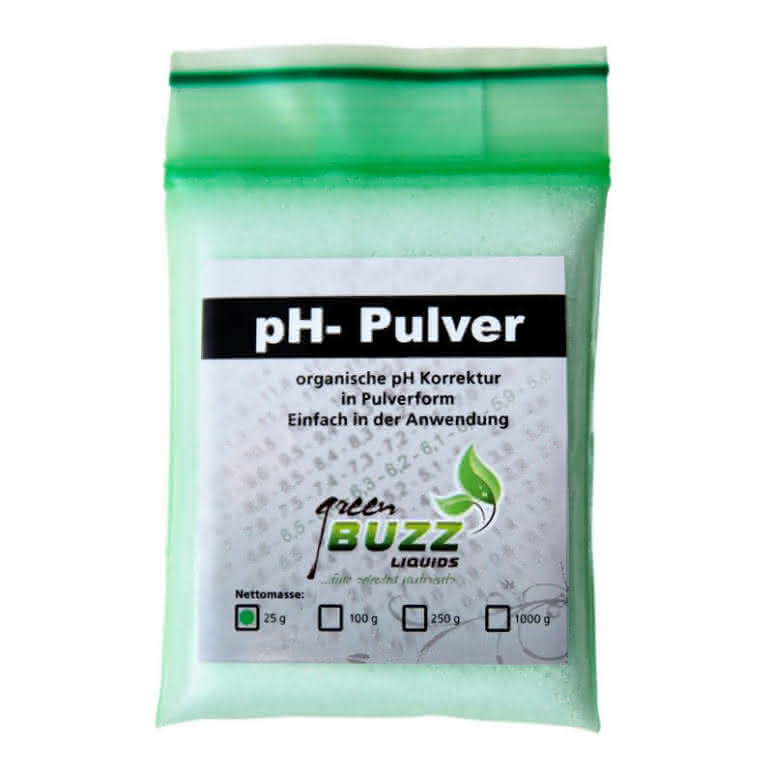 Green Buzz Liquids GBL pH Minus Pulver 25g - pH-Regulator