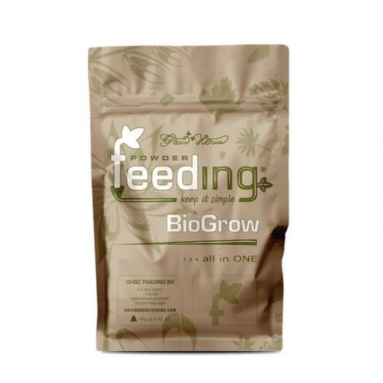 Greenhouse Powder-Feeding BioGrow 1kg - Wachstumsdünger biologisch
