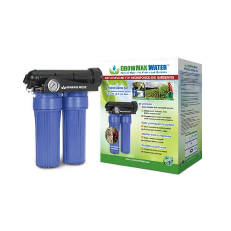 GrowMax Water Power-Grow Osmoseanlage - bis 500 Liter pro Tag