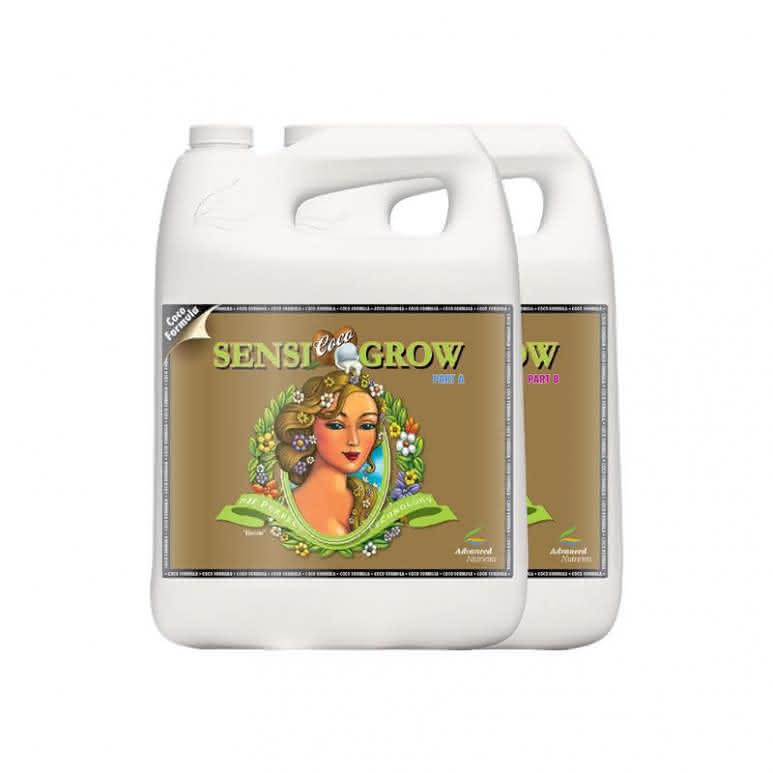 Advanced Nutrients Sensi Grow Coco A + B je 4 Liter - Basisdünger
