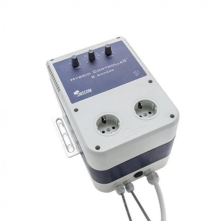 SMSCOM Hybrid Controller 8A MK2 EU - Für Zu- und Abluft