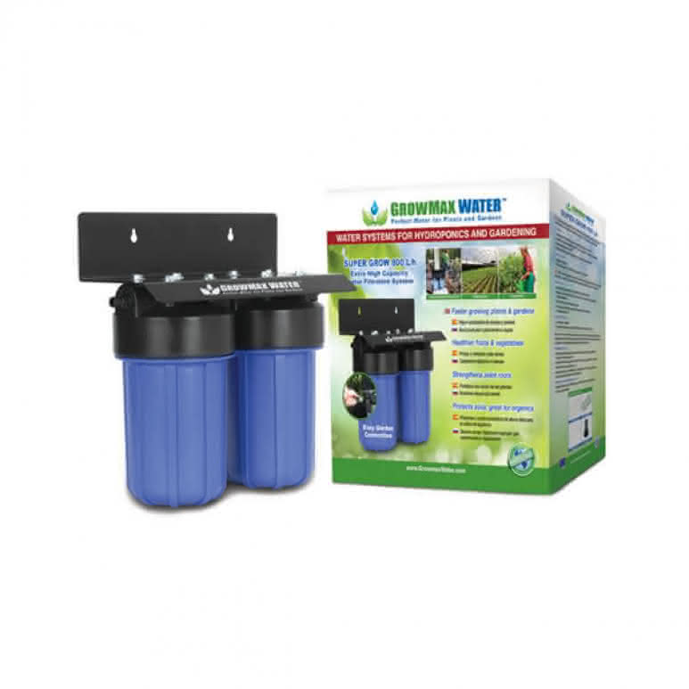 GrowMax Water Super-Grow 2-Stufen-Filtersystem - 800 Liter pro Stunde