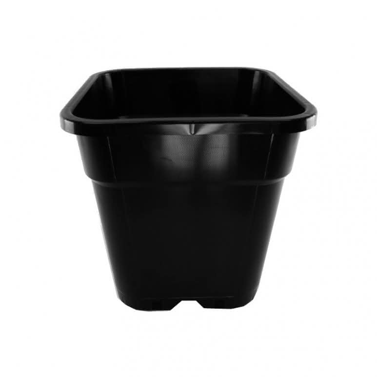 Topf / Pflanzcontainer 31x31x31,6cm eckig - 18 Liter