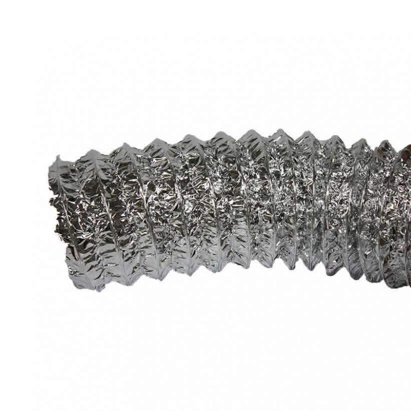Luftschlauch Aluconnect 160mm - Aluminiumbeschichtet