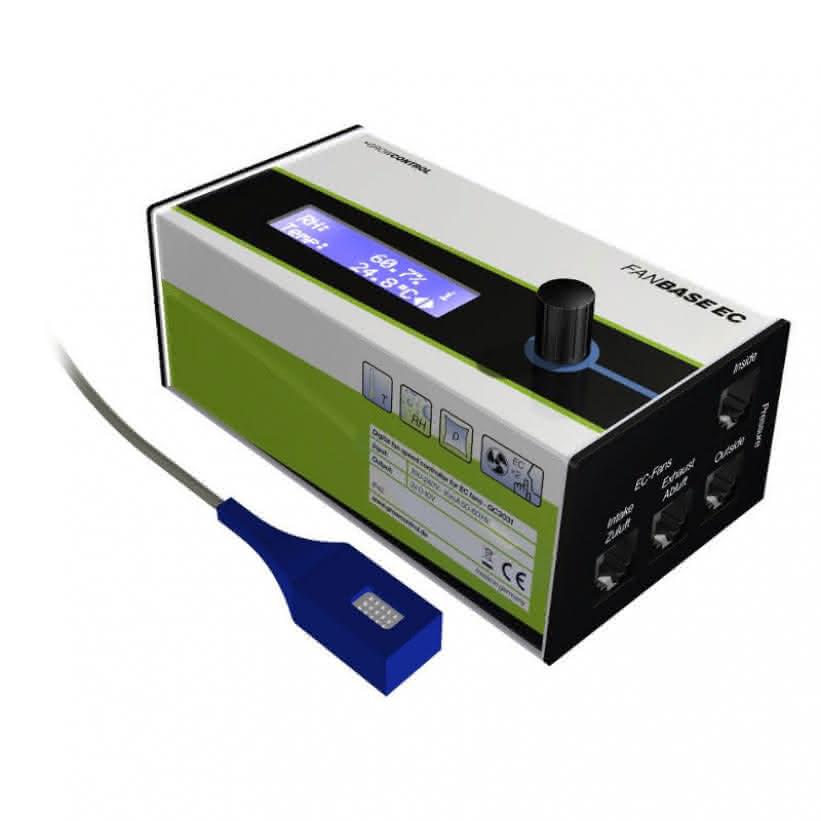 GrowControl FanBase EC - Digitaler Klimacontroller